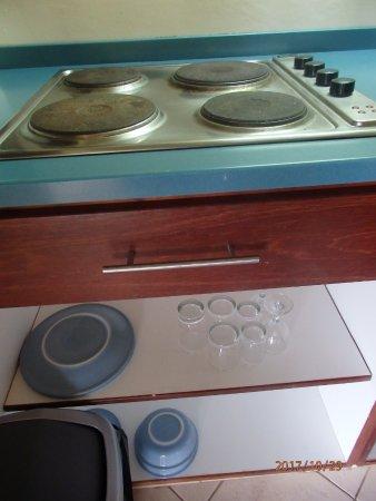 Kura Hulanda Lodge & Beach Club : cooker