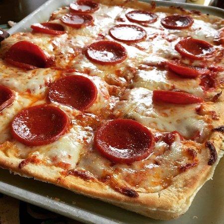 College Park, MD: Ledo's Square Pepperoni Pizza