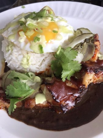 Pork belly dish