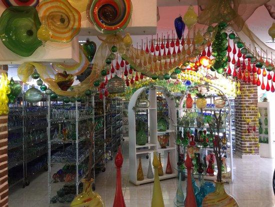 The Glass Factory : Glass art work