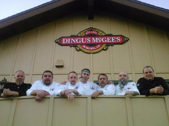 Auburn, Califórnia:  The Dirty Dingus Seven Colfax Kitchen Gang