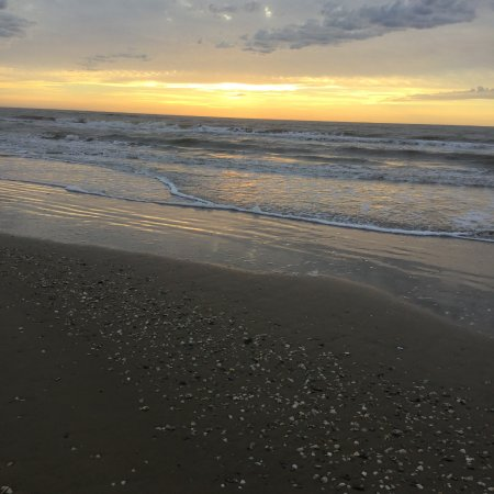 Matagorda, Teksas: Beautiful Sunrise