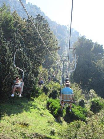 Mount Solaro: Going up!