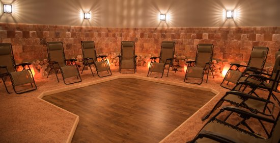 Austin Salt Cave large Halotherapy room