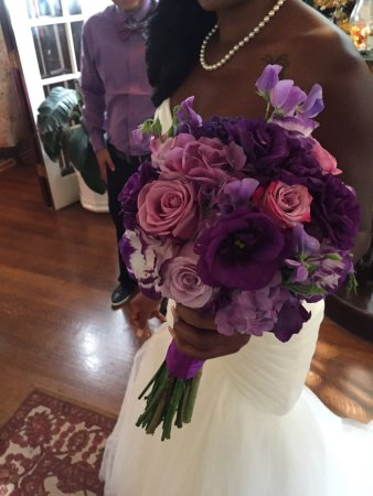 South Pasadena, Californien: Beautiful Bride's Bouquet