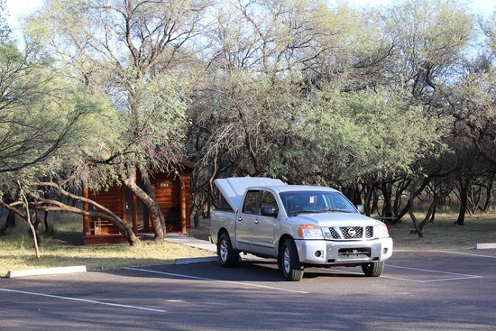 Cottonwood, AZ: My spot. Easy unpacking and packing