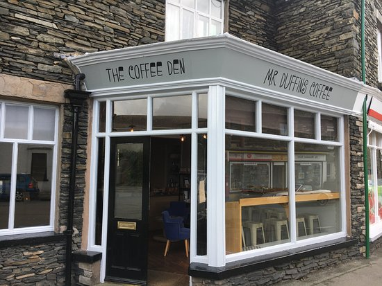 Staveley, UK: Welcome to The Coffee Den