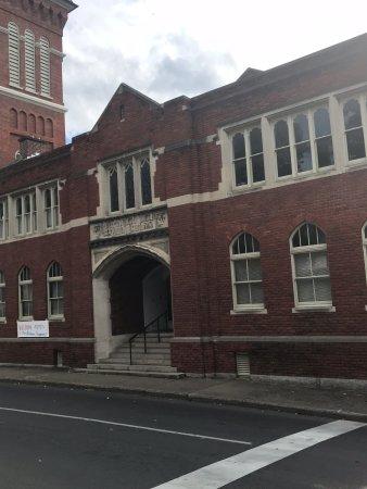 Staunton, Βιρτζίνια: The additional school hall (Sunday School)