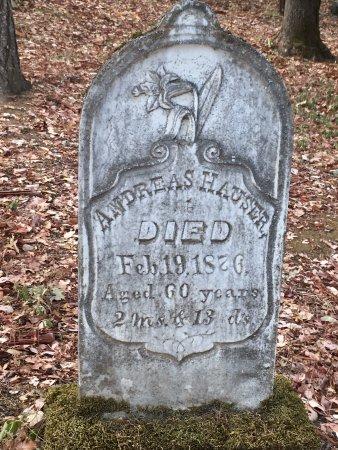 Jacksonville, Oregón: Grave Stone