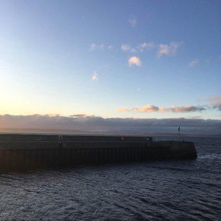 Nairn, UK: The pier at dusk