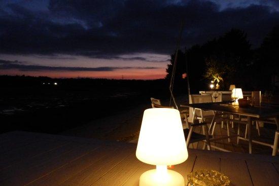 Plouharnel, Francia: terrasse