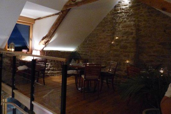 Plouharnel, Francia: Salle à l'étage