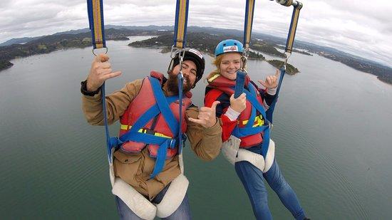 Paihia, Nouvelle-Zélande : Epic tandem flight