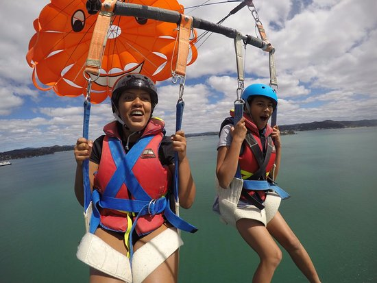 Paihia, Nouvelle-Zélande : tandem flight
