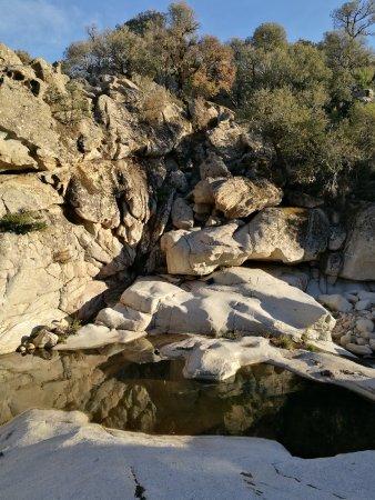 Villagrande Strisaili, Italien: Piscine in località Bau Mela
