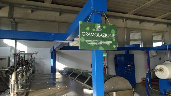 Solarino, Italien: Processing Plant