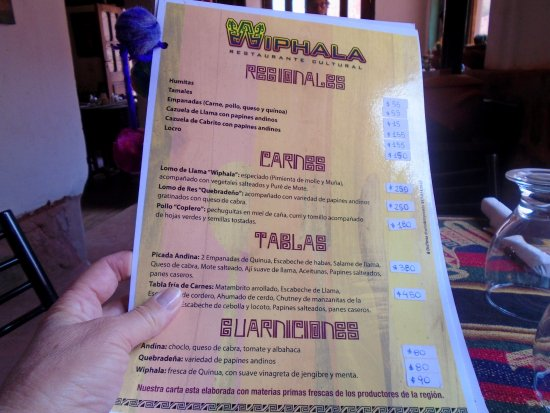 Wiphala Restaurante Cultural Photo