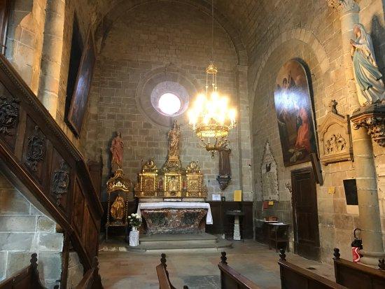 Saint-Hilaire, Франция: Capela da Abadia de St Hilaire
