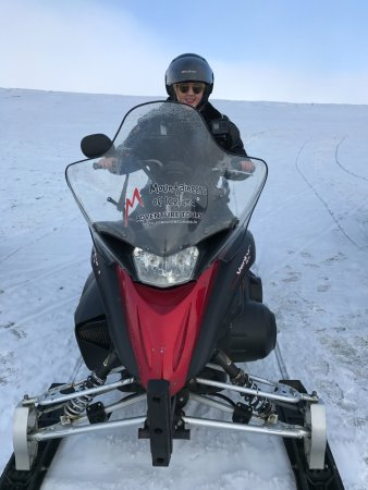 Discover Iceland: Snowmobiling