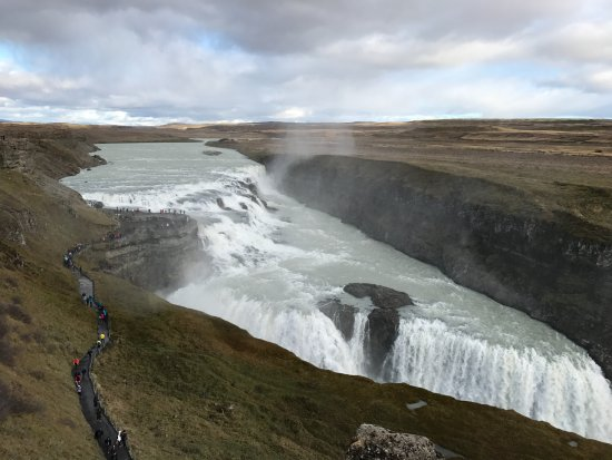 Discover Iceland: Gullfoss Falls