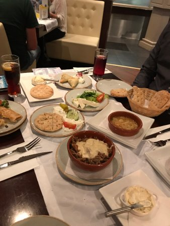 All You Can Greek: So many choices and all great!