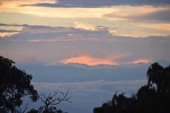 Chicaque, Colombie : Panoramica desde el Nido