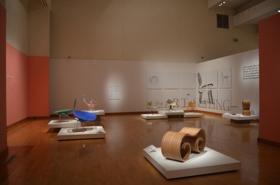 Arkansas Arts Center: The Art of Seating Exhibit