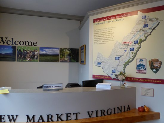 New Market, VA: Welcome Desk