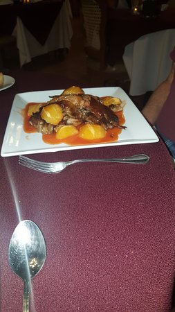 El Rey Sol Restaurant: Duck L'Orange