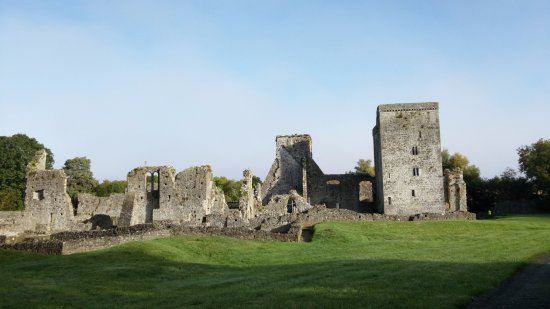 County Kilkenny, Irland: Quite a bit of walking to reach the ruins
