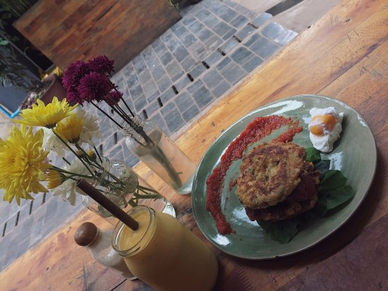 Sister Srey Cafe: Corn Fritters