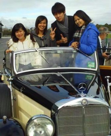 Melbourne Tour In Our 1939 Mercedes Benz Convertible Picture Of