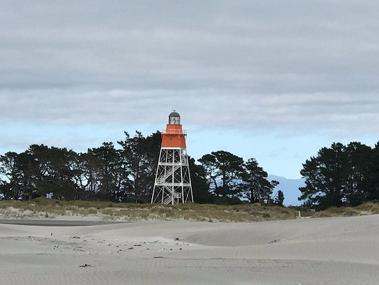Collingwood, Nowa Zelandia: Lighthouse at Farewell Spit
