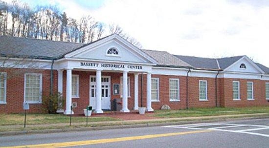 Bassett Historical Center in Bassett, Virginia