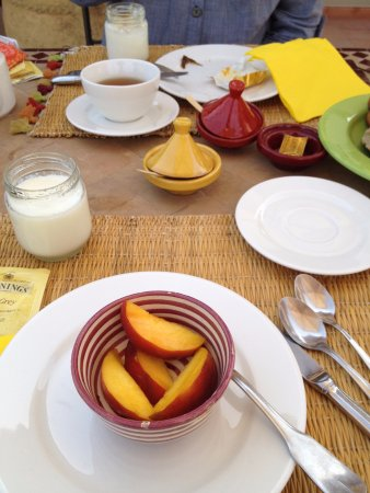 Riad le Clos des Arts : Good location to have breakfast at the third floor