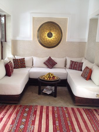 Riad le Clos des Arts : Rest area