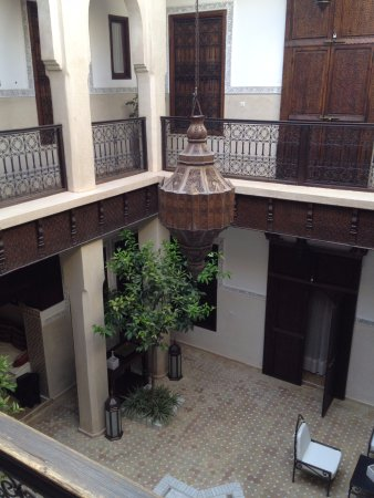 Riad le Clos des Arts : View from the second floor