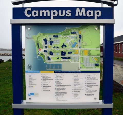 South Portland, ME: Campus Map