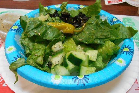 Michelli's Pizzeria: Salad