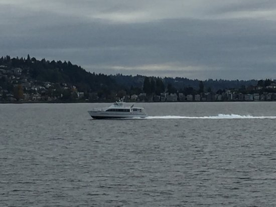 Washington State Ferries: Scenery from ferry. Seating schedules