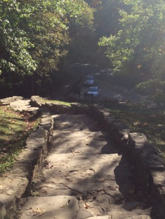 แนชวิลล์, อินเดียน่า: Path up to North View
