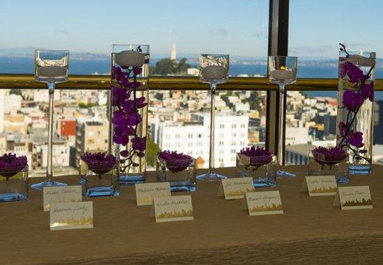 San Francisco Marriott Union Square: Wedding Reception Details
