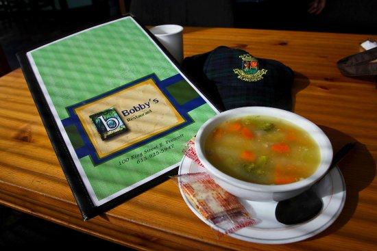 Prescott, Canada: Vegetable Soup