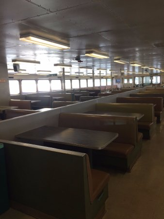 Washington State Ferries: inside seating