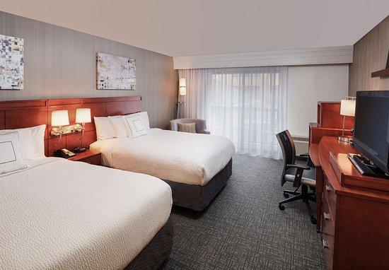 Orange, Коннектикут: Double/Double Guest Room