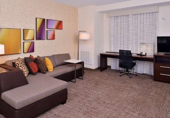 East Lansing, MI: One-Bedroom Suite Living Area