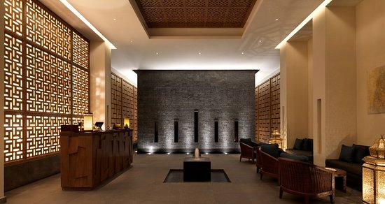 Jabal Akhdar, Oman: Anantara Spa - Reception