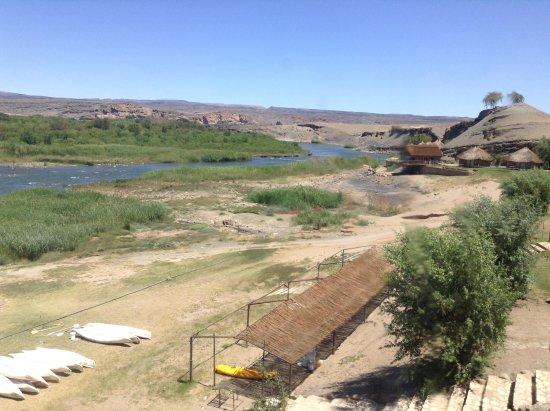 Noordoewer, Namibia: View of Orange River