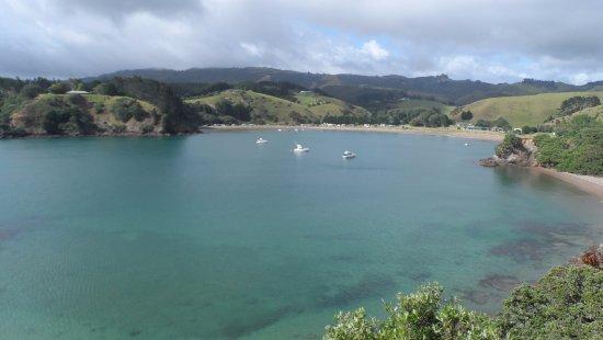 Kaeo, Yeni Zelanda: looking towards Mahinepua