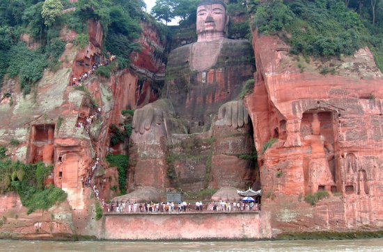 Leshan Giant Buddha, Fishing Village